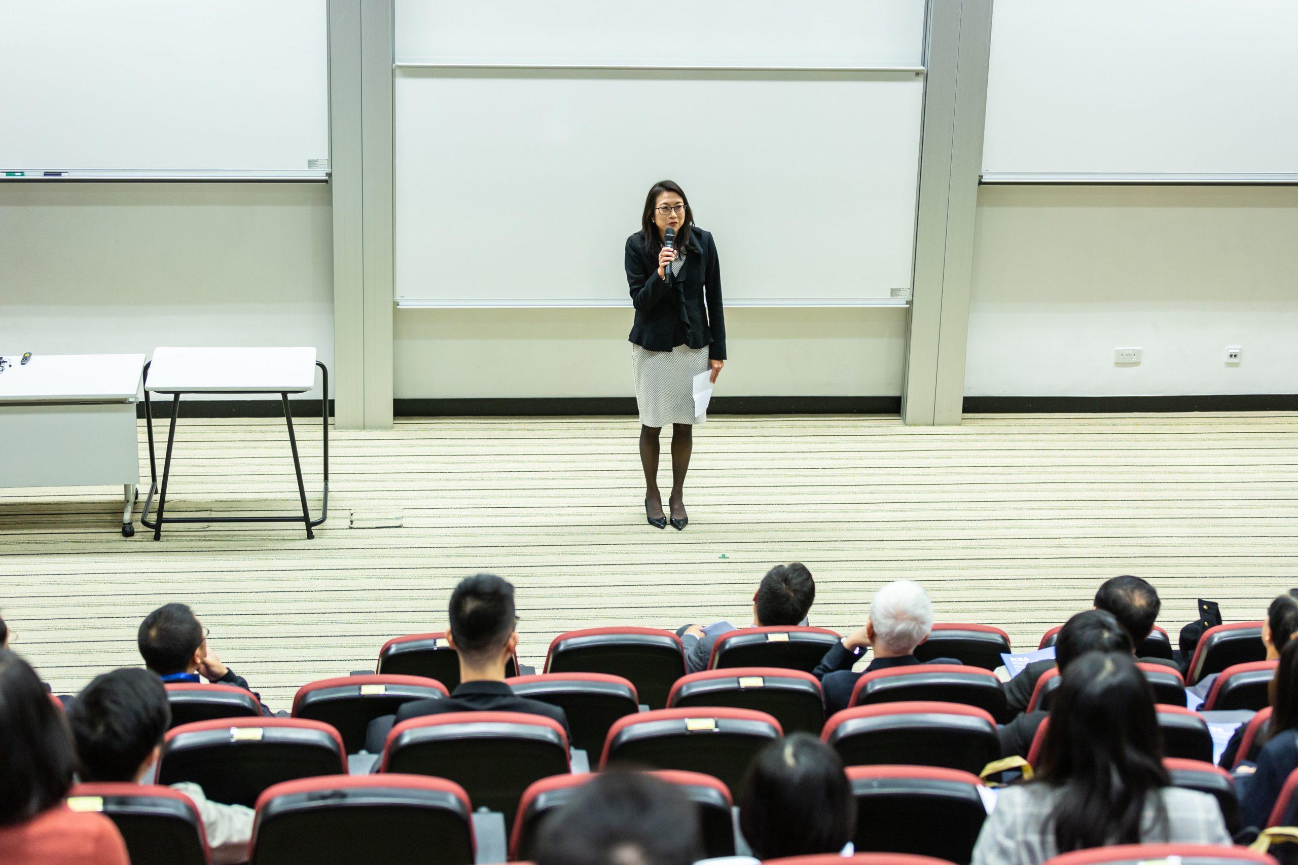 Korean language school classroom lesson