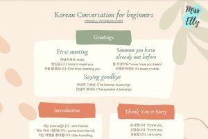 Korean conversation for beginners thumbnail